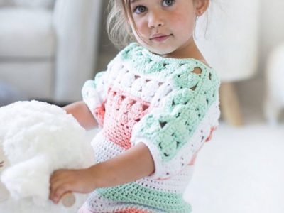 Crochet Tunic Pattern Baby to Child