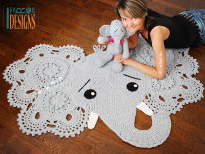 Josefina and Jeffery Elephant Rug