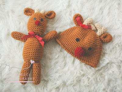 REINDEER HAT & Reindeer Doll Christmas