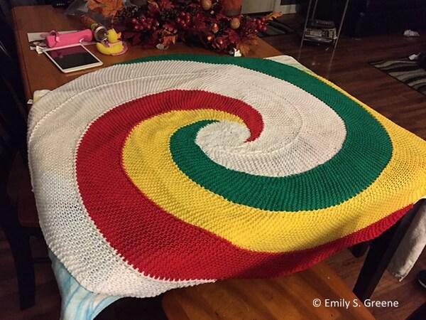 Kaylee's Swirl Blanket