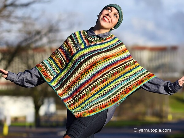 The Pizzazz Poncho