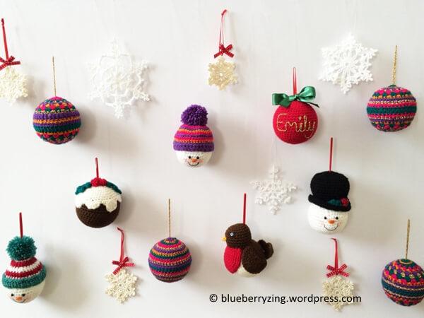 Handmade Crochet Christmas Decorations
