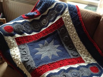 DecoGhan - Original Crochet Afghan pattern