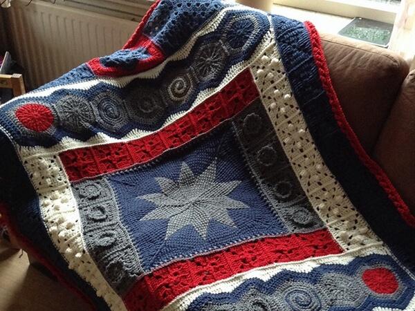 DecoGhan - Original Crochet Afghan pattern