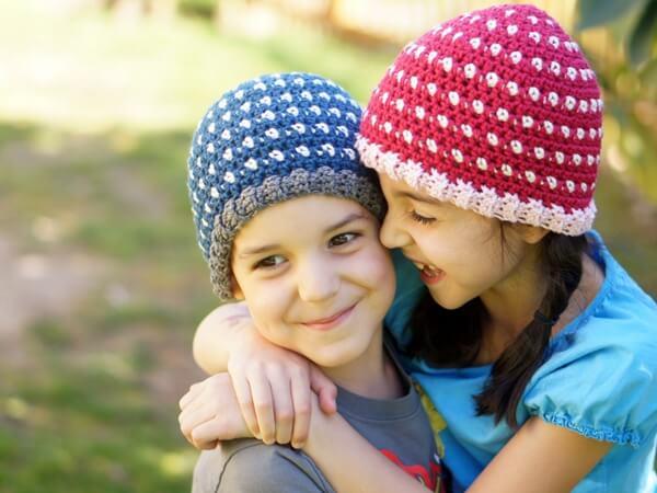 Dot Hat Crochet Pattern