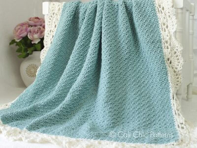 Simply Elegant Claire Baby Blanket