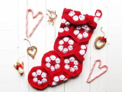 Christmas Crochet Stocking