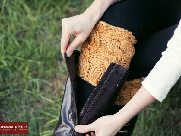 Quick & Easy Knitted Boot Cuffs