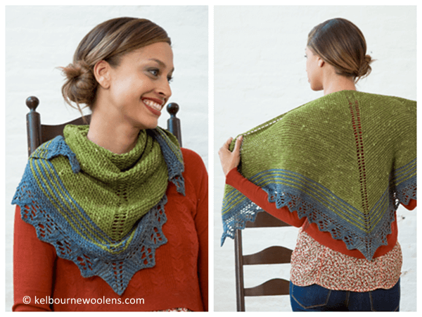 Quaking Aspen Shawl