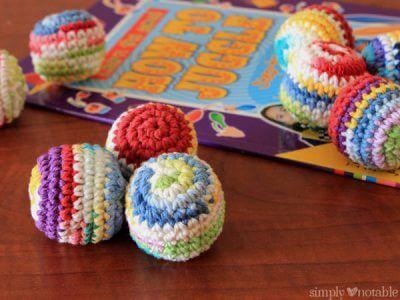 Crocheted Juggling Balls