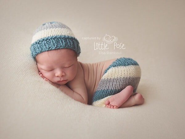 Newborn Striped Set