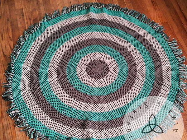 Circle Fishnet Throw