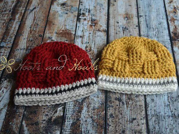 Crochet Pattern Baby Boy Hat