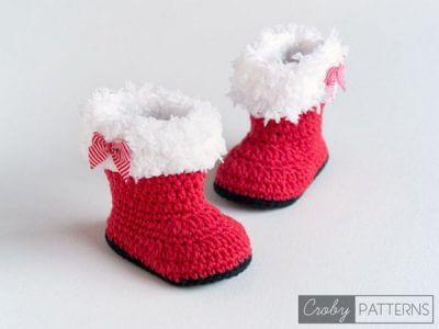 Santa's Baby Booties