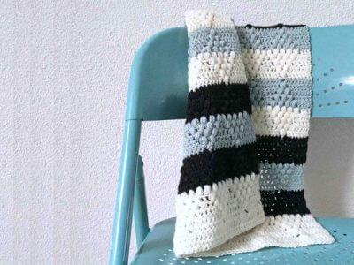 Crochet pattern baby blanket