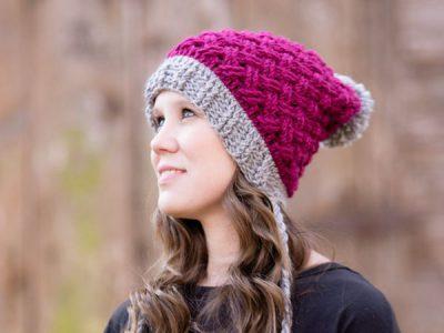 Celtic Weave Mini Slouch Hat