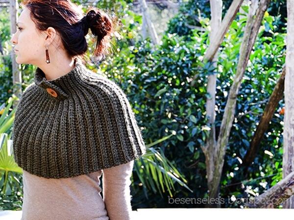 Mantella Crochet Cape
