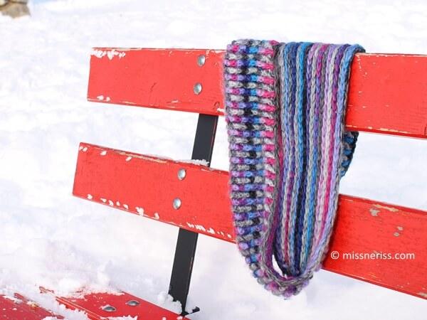 Chunky Crochet Brioche Cowl