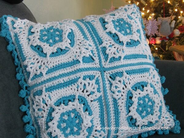 Blizzard Warning Pillow Share A Pattern