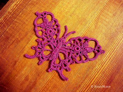 Fancy Thread Butterfly