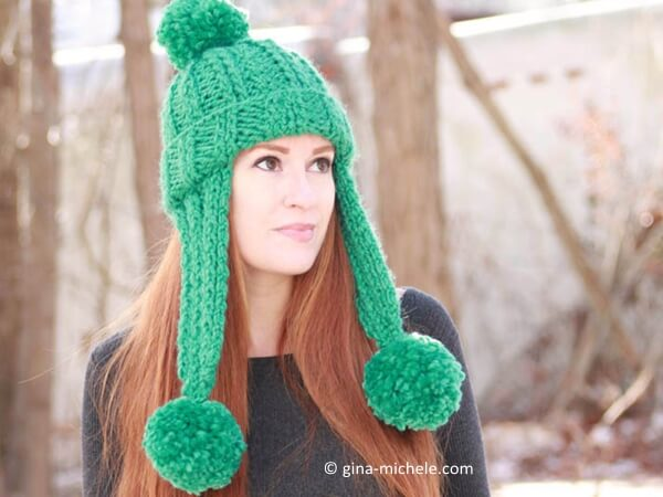Trifecta Ear Flap Hat