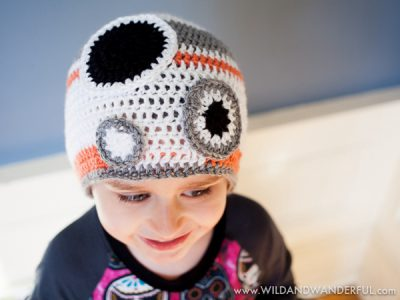 Star Wars BB-8 Inspired Hat