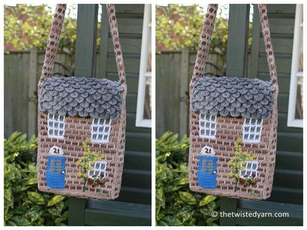 Crochet Cottage Bag
