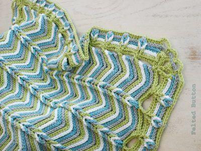 Rolling Ridge Baby Blanket