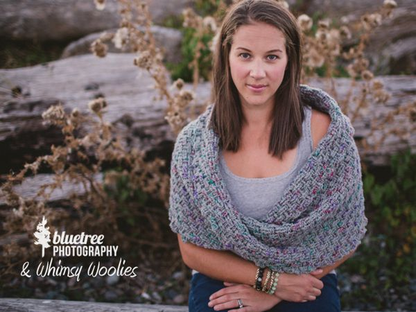 Twisted Infinity Shawl