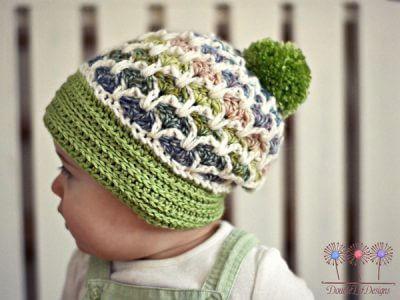 Crochet Vintage Love Slouchy Hat