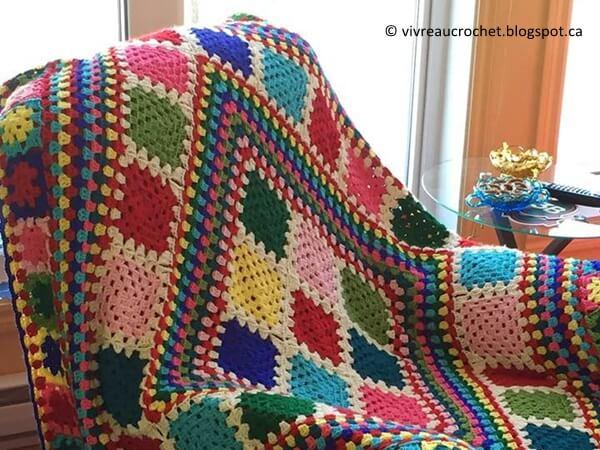 Happy Granny Blanket
