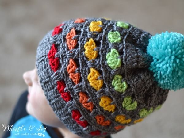 Toddler Puppy Love Hat