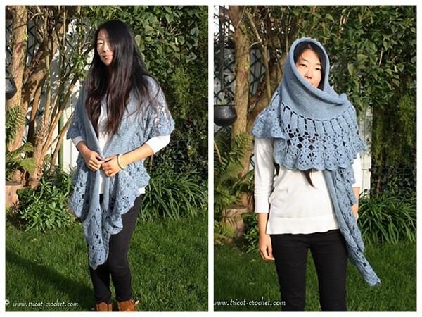 Moonlight shawl