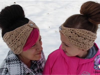 Braided Glam Cable Earwarmer