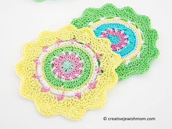 CROCHET MINI MANDALA STASH BUSTER PATTERN