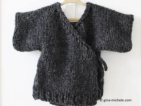 Toddler Kimono Sweater