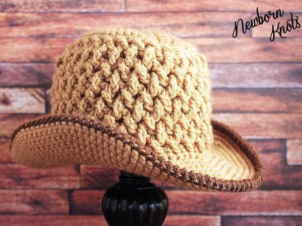 Weaving Baby Cowboy Hat Share a Pattern