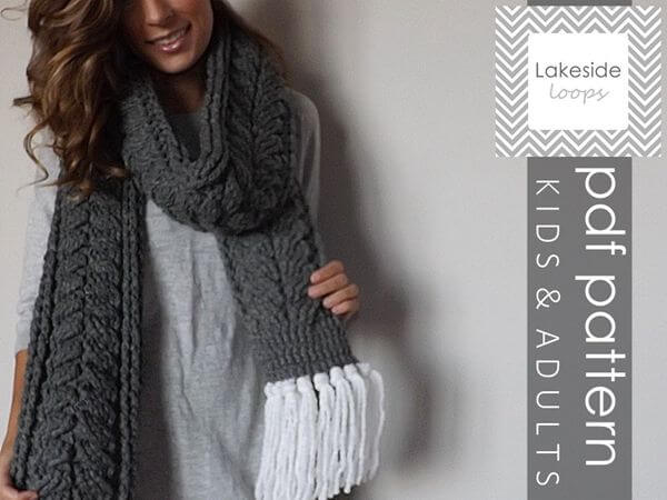 The Elliott Crochet Scarf