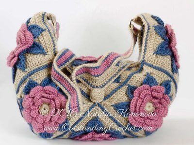 Crochet Hippie Shoulder Bag Pattern