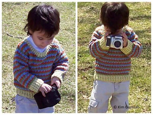 Joseph Child's Pullover Sweater