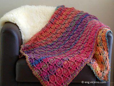 Baby blanket full of colours