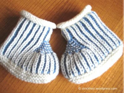 Blue Steps - Baby Booties