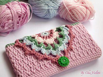 Crochet Phone case DIY Pattern