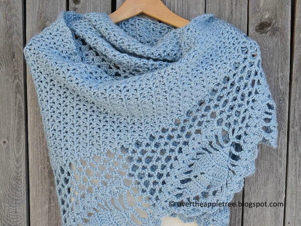 Dawn in the Woods Shawl