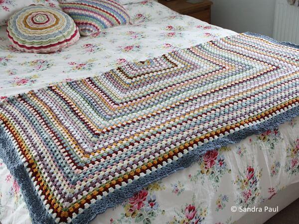 Grannie Goes Large Blanket