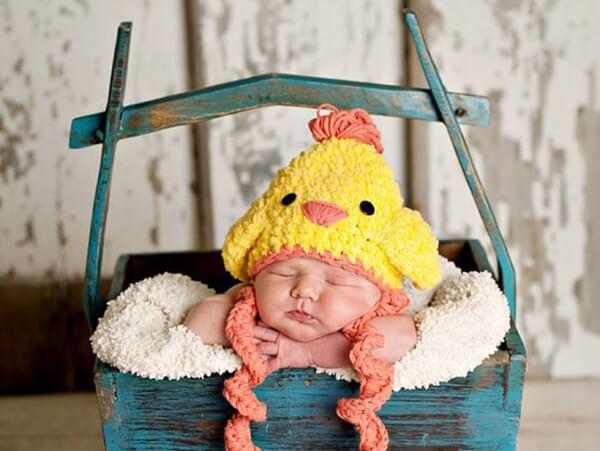 Free Crochet Pattern Easter Hat : Easter chicken crochet hat-free pattern Share a Pattern