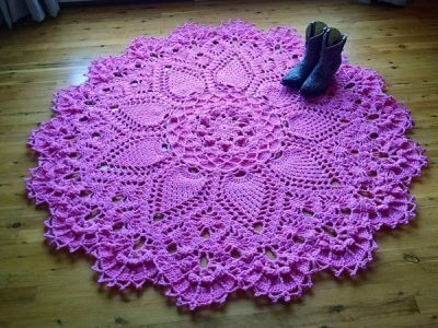 Pineapple Song Crochet Doily Pattern
