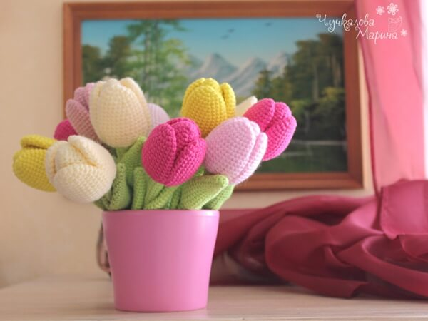 Crochet Tulip Pattern