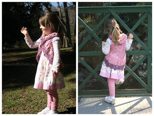 Springtime Bolero Crochet Pattern