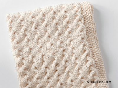 TINY RIPPLES – FREE BABY BLANKET KNITTING PATTERN